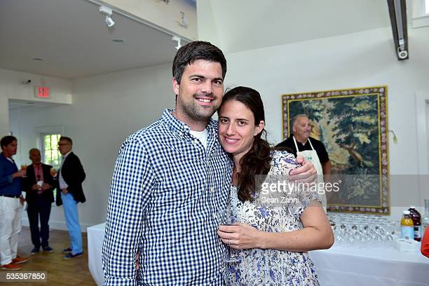 Nathan Sherzer and Katherine Sherzer attend Animal Rescue Fund of the Hamptons 6th Annual Thrift Shop Designer Showhouse at ARF Thrift Treasure Shop...