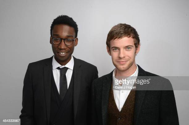 Nathan Stewart Jarrett and Harry Treadaway attends the Moet British Independent Film Awards 2013 at Old Billingsgate Market on December 8 2013 in...