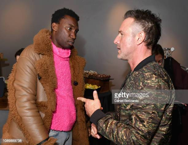 Nathan StewartJarrett and David Arquette attend the Vulture Spot during Sundance Film Festival on January 26 2019 in Park City Utah