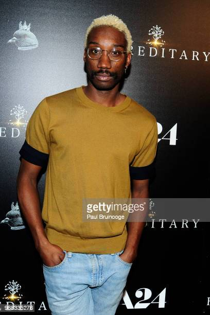 Nathan StewartJarrett attends A24 Hosts A Screening Of 'Hereditary' at Metrograph on June 5 2018 in New York City