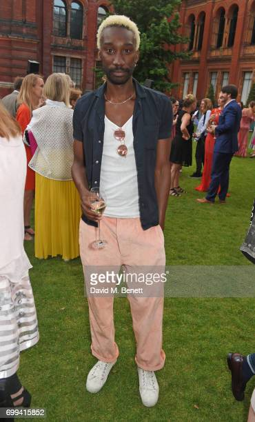 Nathan StewartJarrett attends the 2017 annual VA Summer Party in partnership with Harrods at the Victoria and Albert Museum on June 21 2017 in London...