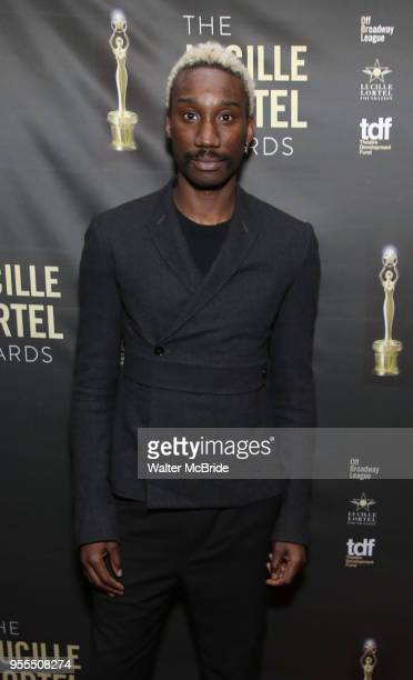 Nathan StewartJarrett attends the 33rd Annual Lucille Lortel Awards on May 6 2018 in New York City