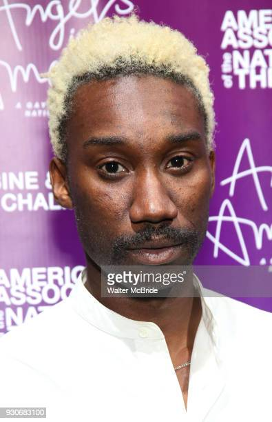 Nathan StewartJarrett attends The American Associates of the National Theatre's Gala celebrating Tony Kushner's Angels in America on March 11 2018 at...