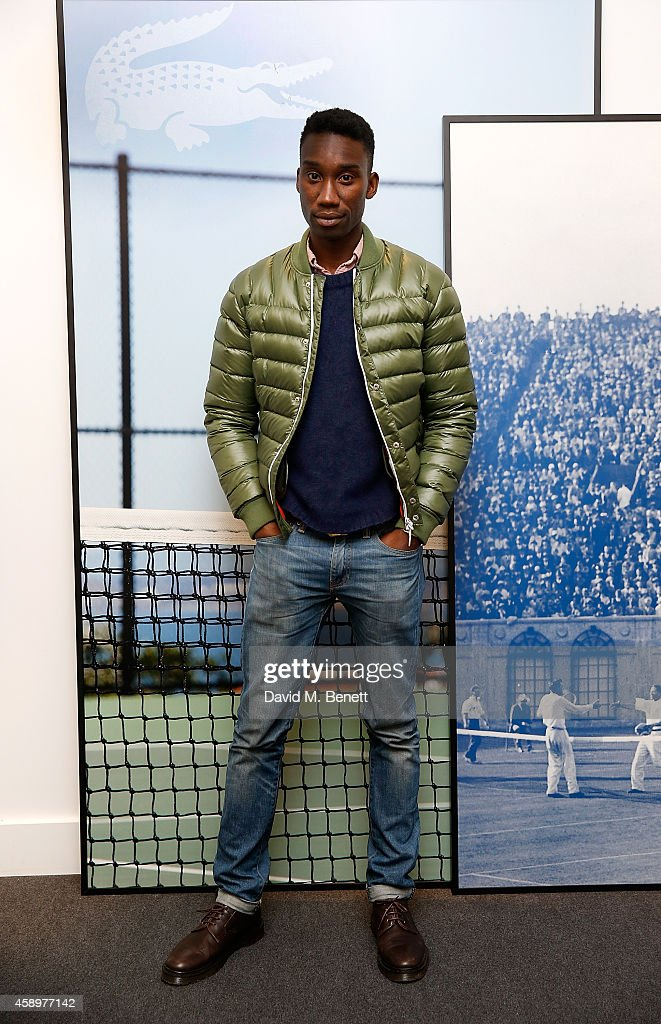 Nathan Stewart-Jarrett attends the Lacoste VIP Lounge on day six of the ATP World Finals 2014 at 02 Arena on November 14, 2014 in London, England.