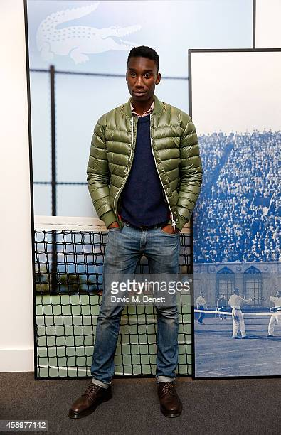 Nathan StewartJarrett attends the Lacoste VIP Lounge on day six of the ATP World Finals 2014 at 02 Arena on November 14 2014 in London England