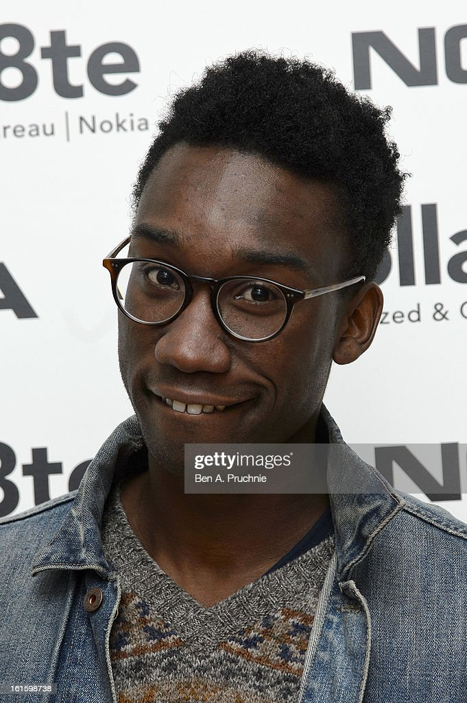 Nathan Stewart-Jarrett attends the premiere of Rankin's Collabor8te connected by NOKIA at Regent Street Cinema on February 12, 2013 in London, England.