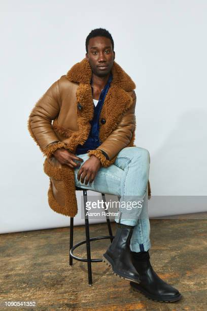 Nathan StewartJarrett from 'Mope' poses for a portrait in the Pizza Hut Lounge in Park City Utah on January 27 2019 in Park City Utah `