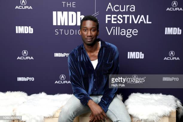 Nathan StewartJarrett of 'Mope' attends The IMDb Studio at Acura Festival Village on location at The 2019 Sundance Film Festival Day 3 on January 27...