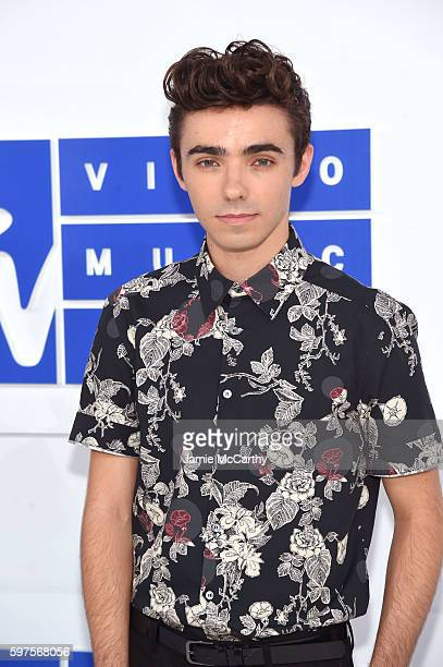 Nathan Sykes attends the 2016 MTV Video Music Awards at Madison Square Garden on August 28 2016 in New York City