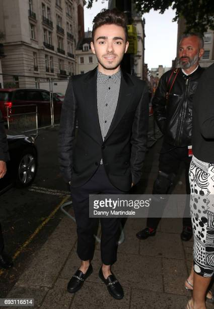 Nathan Sykes attends the Glamour Women of The Year awards 2017 at Berkeley Square Gardens on June 6 2017 in London England