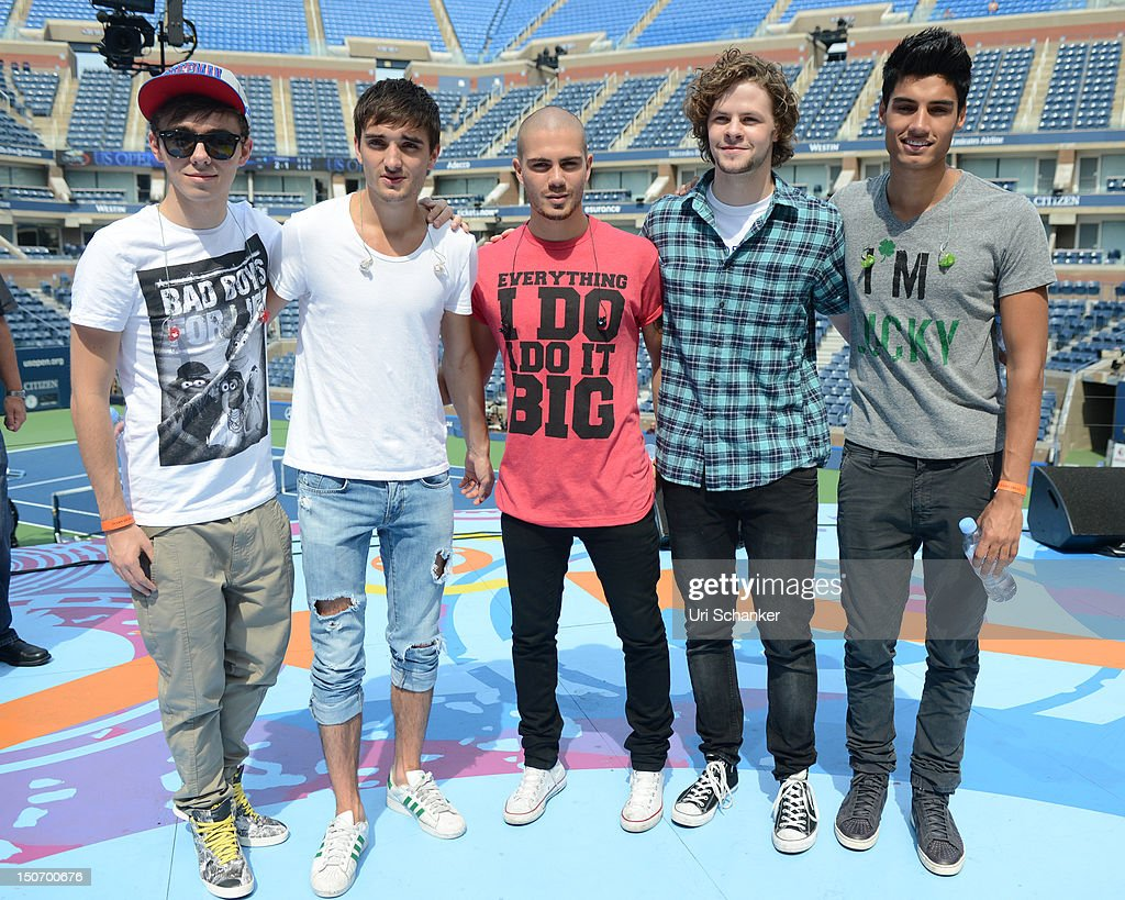 The Wanted Rehearse For 2012 Arthur Ashe Kids' Day