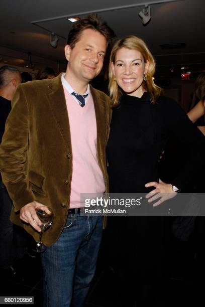 Nathan Turner and Karen Marx attend ELLE DECOR and BLOOMINGDALE'S Celebrate Reopening of Furniture Department With Auction Benefitting CFDA at...