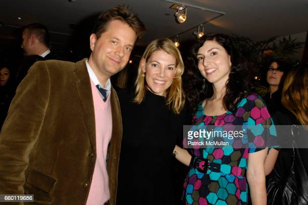 Nathan Turner Karen Marx and Gabrielle Galardo attend ELLE DECOR and BLOOMINGDALE'S Celebrate Reopening of Furniture Department With Auction...