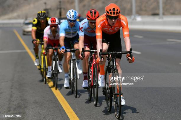 Nathan Van Hooydonck of Belgium and CCC Team / Ian Boswell of The United States and Team Katusha Alpecin / Jeremy Leveau of France and Delko...