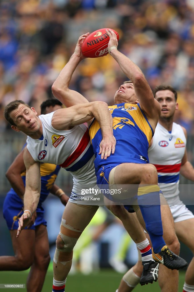 AFL Rd 18 - West Coast v Western Bulldogs