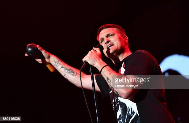 Nathan Willett of Cold War Kids performs onstage during KROQ Almost Acoustic Christmas 2017 at The Forum on December 9 2017 in Inglewood California