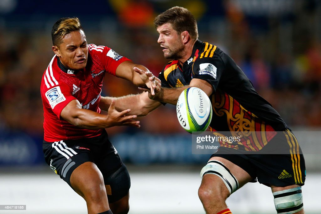 Super Rugby Rd 3 - Chiefs v Crusaders : News Photo