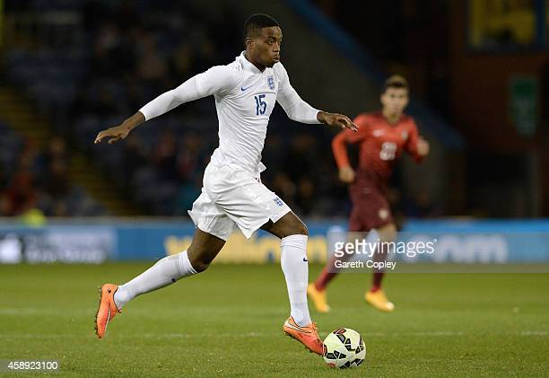 Nathaniel Chalobah of England during the U21 International Friendly match between England and Portugal at Turf Moor on November 13 2014 in Burnley...