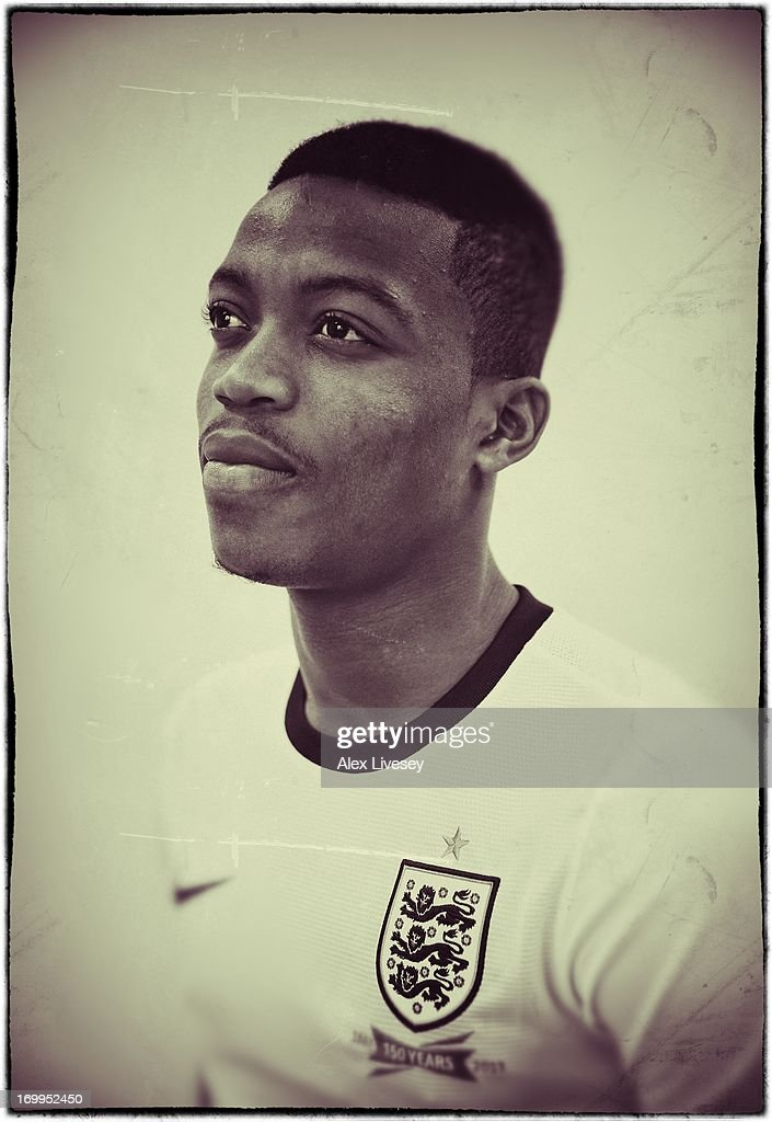 Nathaniel Chalobah of England Under-21s poses for a portrait at St Georges Park on March 19, 2013 in Burton-upon-Trent, England.