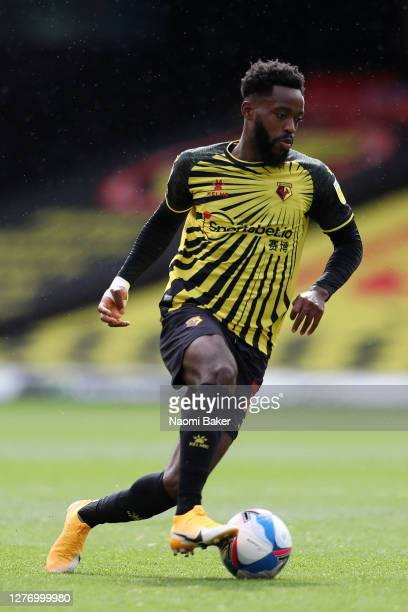 Nathaniel Chalobah of Watford in action during the Sky Bet Championship match between Watford and Luton Town at Vicarage Road on September 26 2020 in...