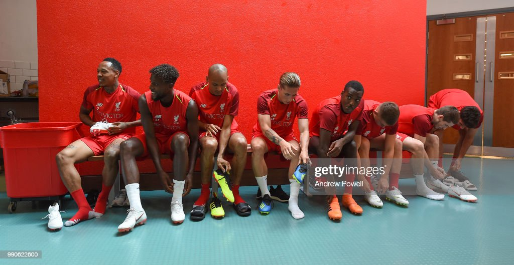 Liverpool Pre-Season Training : News Photo