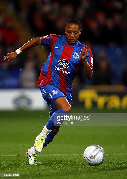 Nathaniel Clyne of Crystal Palace in action during the Carling Cup Fourth Round match between Crystal Palace and Southampton at Selhurst Park on...