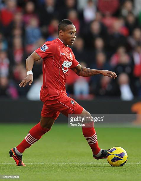 Nathaniel Clyne of Southampton during the Barclays Premier League match between Southampton and Swansea City at St Mary's Stadium on November 10 2012...