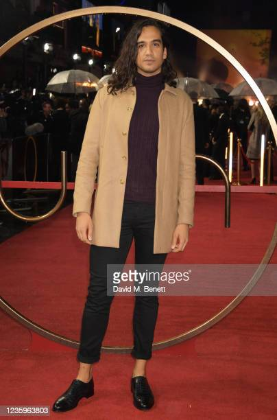"""Nathaniel Curtis attends the UK Special Screening of """"Dune"""" at the Odeon Luxe Leicester Square on October 18, 2021 in London, England."""