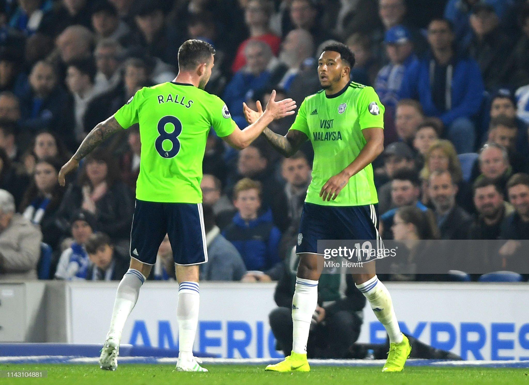 Brighton & Hove Albion v Cardiff City - Premier League : News Photo