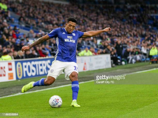 Nathaniel MendezLaing of Cardiff City FC during the Sky Bet Championship match between Cardiff City and Barnsley at Cardiff City Stadium on December...
