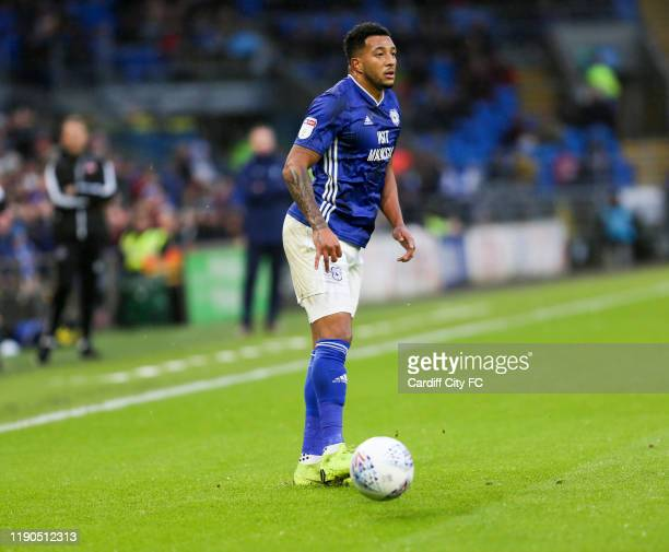 Nathaniel MendezLaing of Cardiff City FC during the Sky Bet Championship match between Cardiff City and Millwall at Cardiff City Stadium on December...