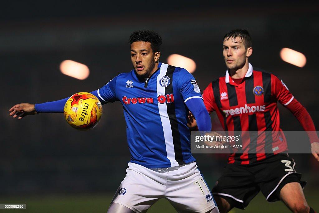 Rochdale v Shrewsbury Town - Sky Bet League One : News Photo