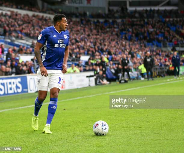 Nathaniel MendezLaing or Cardiff City FC during the Sky Bet Championship match between Cardiff City and Preston North End at Cardiff City Stadium on...
