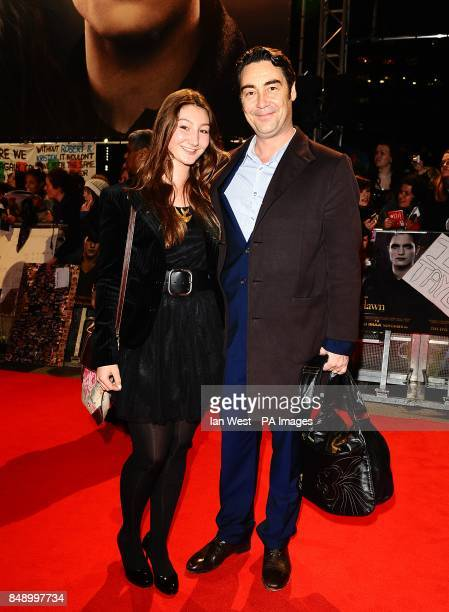 Nathaniel Parker and Anna Patrick arriving for the premiere of The Twilight Saga Breaking Dawn Part 2 at the Empire and Odeon Leicester Square London