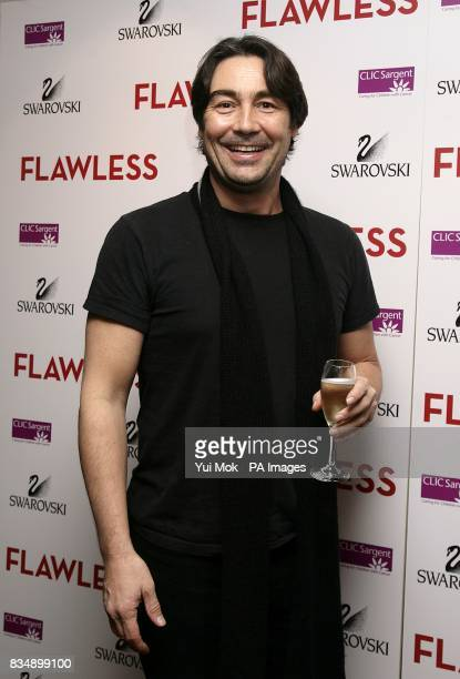 Nathaniel Parker arrives for the predrinks reception prior to the UK Film Premiere of 'Flawless' at Century Club Shaftesbury Avenue London