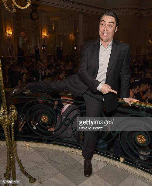 Nathaniel Parker attends the press night after party of 'This House' at The Waldorf Hilton Hotel on November 30 2016 in London England