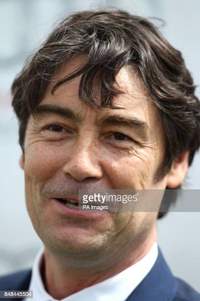 Nathaniel Parker during Ladies Day of the Glorious Goodwood Festival at Goodwood Racecourse Chichester