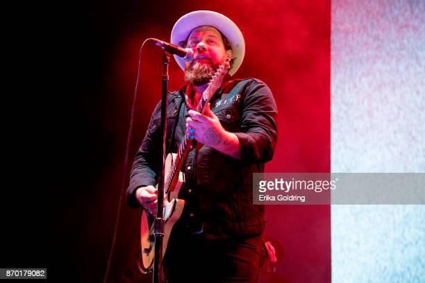 Nathaniel Rateliff performs during 2017 Boudin Bourbon and Beer at Champions Square on November 3 2017 in New Orleans Louisiana