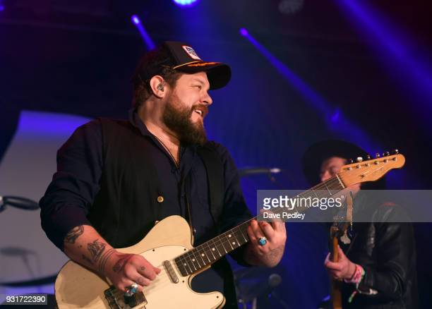 Nathaniel Rateliff The Night Sweats performs onstage at the Pandora showcase during SXSW at The Gatsby on March 13 2018 in Austin Texas