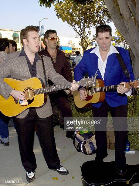 """Nathen Belt and Jage during CBS Announces an Open Casting Call to Find The Next """"King Of Rock 'N' Roll"""" to Star as Elvis Presley in the Upcoming..."""