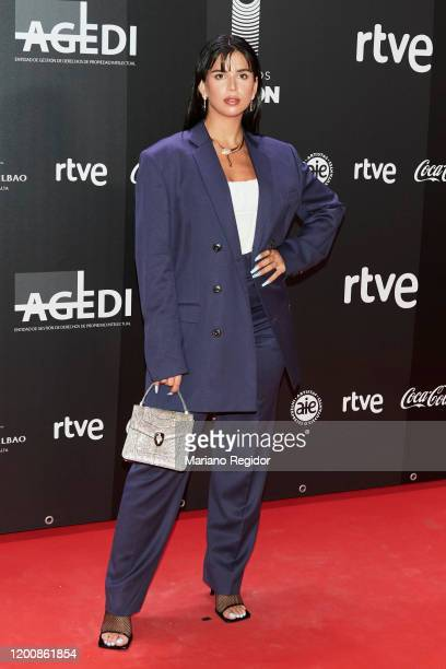 Nathy Peluso attends Odeon Awards 2020 at Royal Theater on January 20 2020 in Madrid Spain
