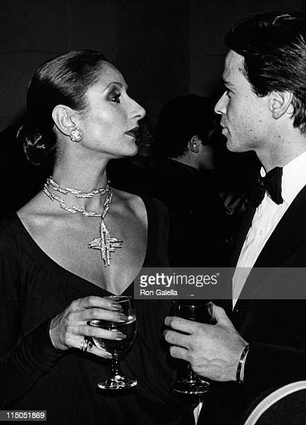 Nati Abascal attends Le Bal Blanc Gala on January 13 1969 at the St Regis Hotel in New York City