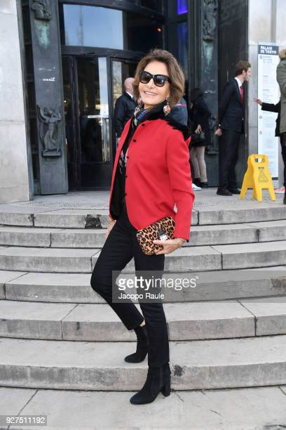 Nati Abascal attends the Giambattista Valli show as part of the Paris Fashion Week Womenswear Fall/Winter 2018/2019 on March 5 2018 in Paris France