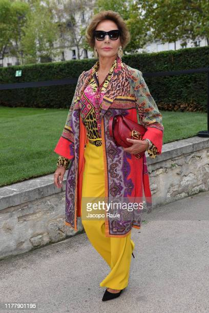 Nati Abascal attends the Valentino Womenswear Spring/Summer 2020 show as part of Paris Fashion Week on September 29 2019 in Paris France