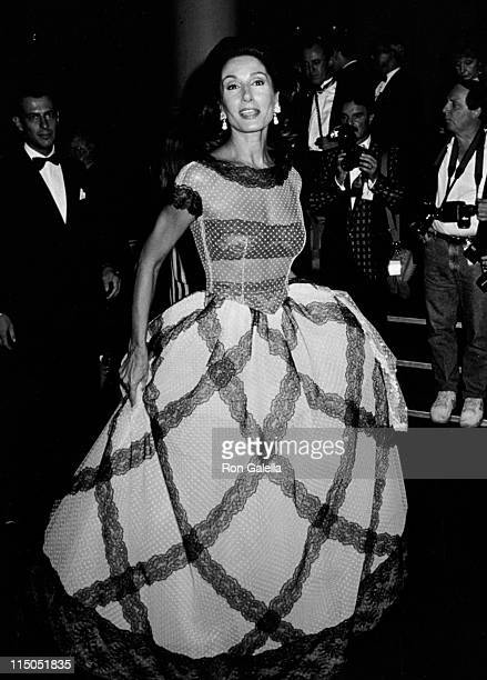 Nati Abascal attends Valentino Thirty Years of Magic Gala Retrospective on September 22 1992 at the Park Avenue Armory in New York City