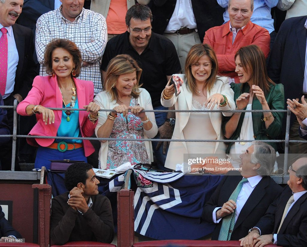 Celebrities Attend Bullfights Season In Madrid - May 20, 2011