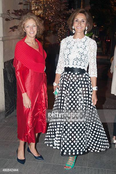 Nati Abascal is seen on May 27 2014 in Madrid Spain