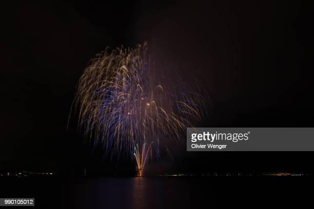 Nation Day Switzerland Fireworks