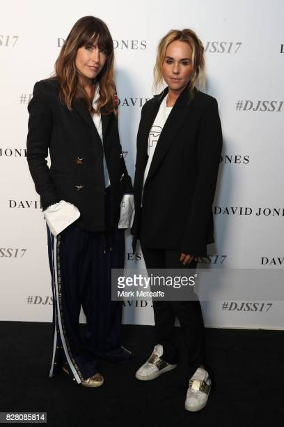 Nation designers Claire Tregoning and Pip Edwards arrive ahead of the David Jones Spring Summer 2017 Collections Launch at David Jones Elizabeth...