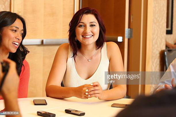 DIEGO 'Z Nation Panel Press Room' Pictured Anastasia Baranova